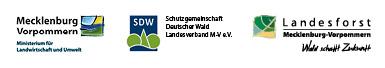 Logos Projektpartner Waldpädagogische Bildungsbausteine